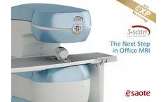 Esaote - Model S-scan - MRI Systems - Brochure