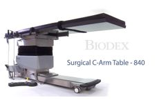 Biodex Surgical C-Arm Table - 840 - Video