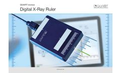 Quart Nonius - Direct Electronic X-Ray Ruler for Field and Fan-Beam Measurement - Brochure