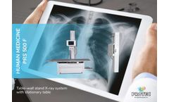 Protec - Model PRS 500 F - Table-Wall Stand X-Ray System with Stationary Table - Brochure