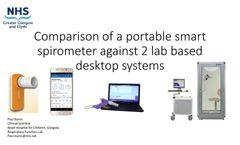 Minispir - Handheld PC-Based Spirometer - Brochure