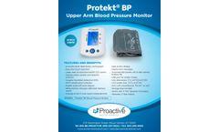 Proactive Protekt - Model BP PMDBPA - Upper Arm Blood Pressure Monitor - Brochure