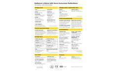 Defibtech Lifeline - Model AED - Semi-Automatic Defibrillator - Brochure
