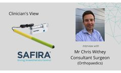 A Surgeon`s View of SAFIRA: SAFer Injection for Regional Anaesthesia - Video
