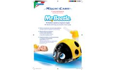 MagicCare - Model Mr Beetle CO08P00 - Complete Aerosol System For Pediatric Therapy - Technical Sheet