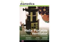 Diamedica - Helix Portable Ventilator - Adult/Paediatric - SpecSheet