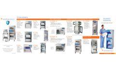 Enthermics - Model DC250 - Blanket Warming Cabinet - Brochure