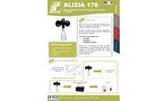 Pulsonic Alizia - Model 178 - Anemometer - Brochure