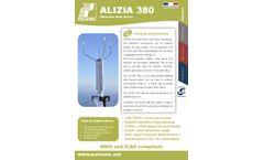 Alizia 380 - Ultrasonic Wind Sensor - Ultra Low Power
