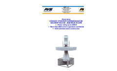 PVS - Direct-Drive High Performance Surface Aerator  Brochure