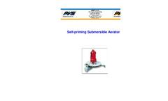 PVS - Model SC-LK - Pressurized Submersible Aerator and Mixer SC-LK Brochure