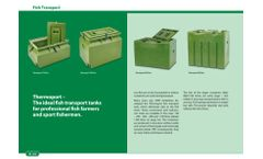 Thermoport - Ideal Fish Transport System for Farmers And Sport Fishermen Brochure