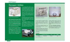 Thermoport 1100L Fish Transport Tanks Brochure