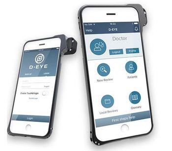 D-EYE - Version 2.0 - Portable Digital Ophthalmoscope App