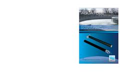 Aquatube - Fine Bubble Air Diffuser - Brochure