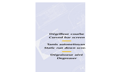 EUROPELEC - Model Type DCM - Curved Bar Screen - Brochure