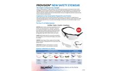 ProVision - Model 3534 - Crystal Clear Optical Cleaning Wipes - Brochure