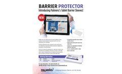 Palmero - Model 1804 - Tablet Barrier Sleeves - Brochure