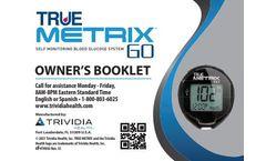 True Metrix - Model GO - Self Monitoring Blood Glucose System - Brochure