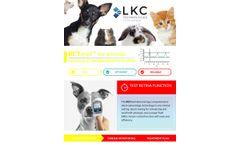 RETevet - Simple Electrodiagnostic Testing Device For Animals - Brochure