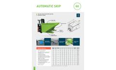 Goubard - Model GX - Automatic Skip - Datasheet