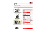 MG-B Series - Classifier Mill - One Rotor - Technical Datasheet