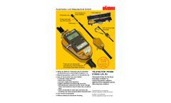 Automess - Model 6150AD-t/E - Teletector Probe - Brochure