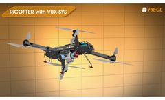 Application Examples using the RIEGL VUX-1UAV LiDAR Sensor! - Video