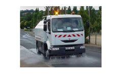 Street Watering and Washing Vehicle