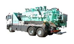 Model ADR ATEX Level 2 - Combined Hasardous Liquid Waste Pumping and Transport Vehicle