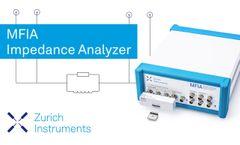 MFIA Impedance Analyzer - Video