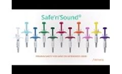 Safe`n`Sound®: Nemera`s passive safety device for naïve or experienced users - Video