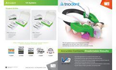 Ultradent Triodent - Model V3 - Sectional Matrix Ring - Brochure