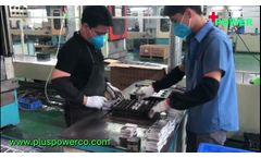loading container---Plus Power VRLA/SLA battery producing 2 - Video