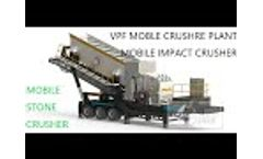VPF Mobile Crushing Plant - China Vanguard customized production plant in the mining industry