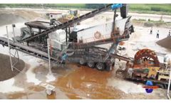 VPF Mobile Crushing Plant With XSD Sand Washing Machine For Fine Clean Sand -Vanguard Machinery Tech - Video