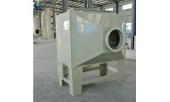 Introduction of scrubber + activated carbon adsorption exhaust gas purification device
