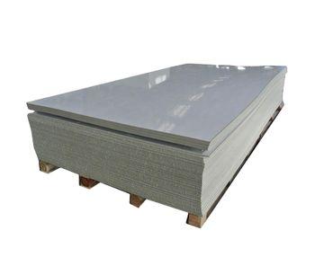 PP Plastic Sheet - Gray-1