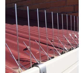 Stainless steel bird spikes - Health and Safety - Pest Control-2