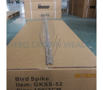 7200pcs Stainless Bird Spikes and Accessories Ready to Ship to Kuwait