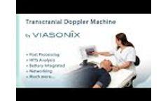 Viasonix Dolphin Transcranial Doppler Diagnostics Machine - Complete Post Processing and Networking! - Video