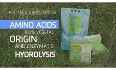BOTAMISOL · ENG · Amino acids for foliar application and fertiliser irrigation - Video