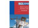 LoadSense - Model WLS-LC Series -  Wireless Load Sensor - Datasheet