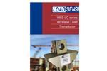 LoadSense - Model WLS-HR Series - Wireless Load Sensor Handheld Receiver - Datasheet