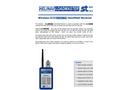 HeliNav LoadMaste - Model HLM-HR Series - Wireless Load Sensor Handheld Receiver - Datasheet