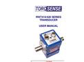 TorqSense - RWT410/420 Series - Digital Transducers - User Manual