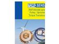 TorqSense - Model RWT450/460 Series - Digital Pulley/Sprocket Torque Sensor - Datasheet