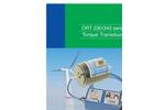 TorqSense - Model ORT230/240 - Optical Torque Transducers - Brochure