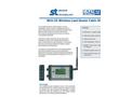 LoadSense - Model WLS-CD Series - Wireless Load Sensor Cabin Display - Datasheet