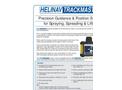 Helinav Trackmaster - Model HTM-TD - Precision Guidance & Position System - Brochure